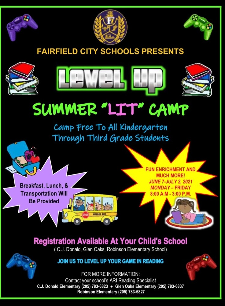 ARI K-3 Summer Reading Camp!