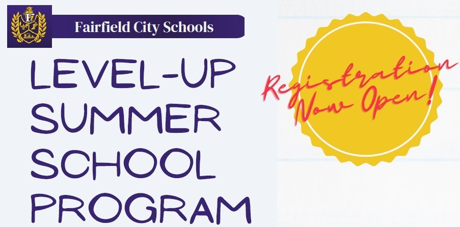 Summer Program Registration Grades 7th-11th