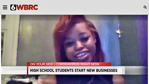 Oniya Walker, Fairfield High  Freshman and Entrepreneur