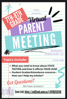 7th/8th Grade Parent Meeting