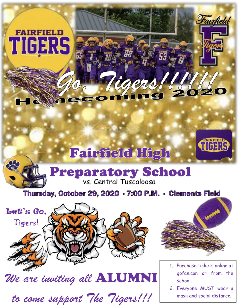 Come support the Tigers!