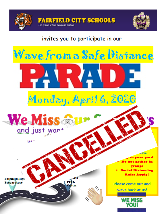 Parade cancelled