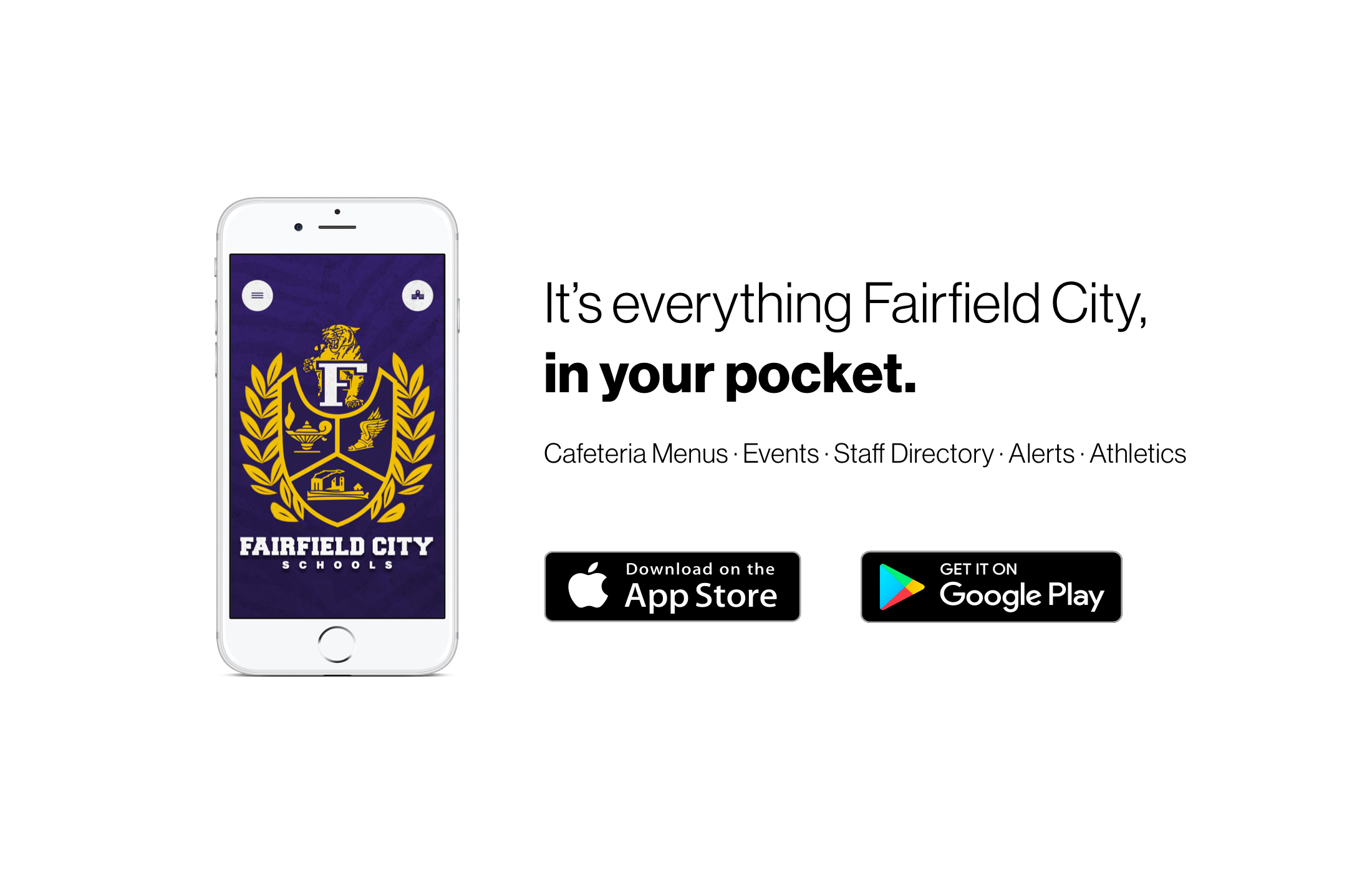 It's everything Fairfield City, in your pocket.